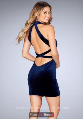 La Femme Short Dress 25032