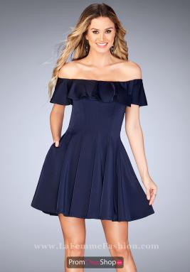 La Femme Short Dress 25070