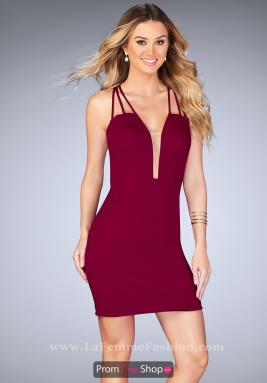 La Femme Short Dress 25139