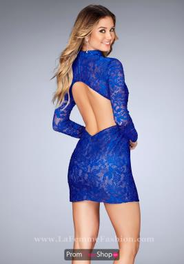 La Femme Short Dress 25373