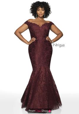 Intrigue by Blush Dress 425W