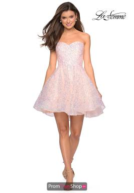 La Femme Short Dress 27517