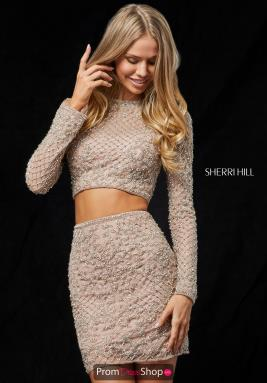 Sherri Hill Short Dress 52090
