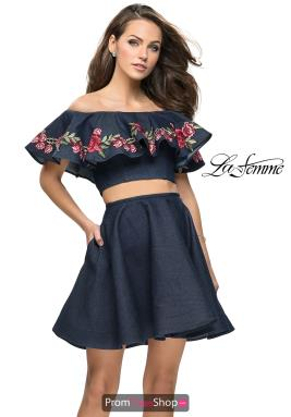 La Femme Short Dress 26627