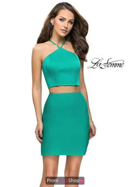 La Femme Short Dress 26630