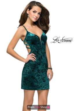 La Femme Short Dress 26636