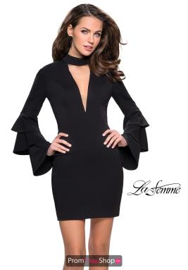 La Femme Short Dress 26639