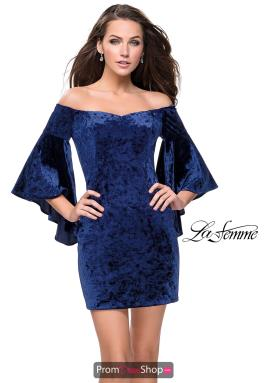 La Femme Short Dress 26640