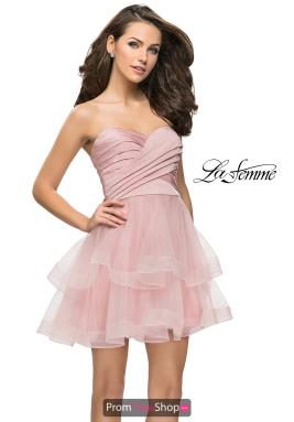 La Femme Short Dress 26654