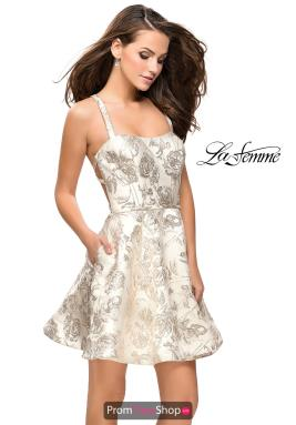 La Femme Short Dress 26656
