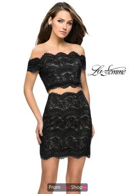 La Femme Short Dress 26666