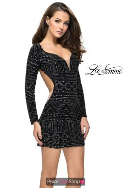 La Femme Short Dress 26672