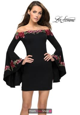 La Femme Short Dress 26674