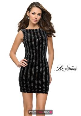 La Femme Short Dress 26687