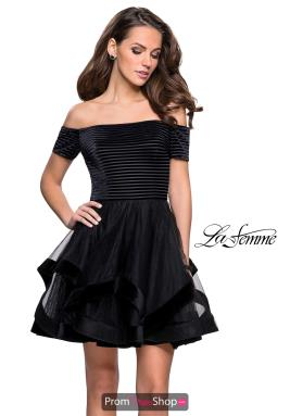 La Femme Short Dress 26751
