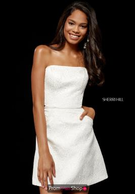 Sherri Hill Short Dress 52335