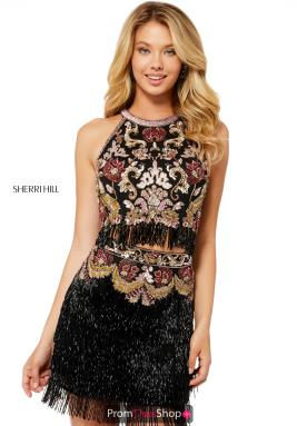 Sherri Hill Short Dress 52102