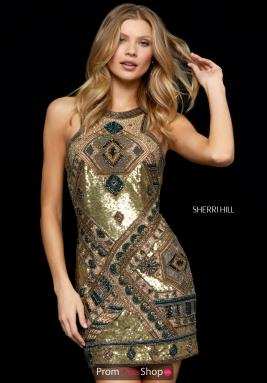 Sherri Hill Short Dress 52104