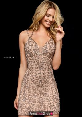 Sherri Hill Short Dress 52200