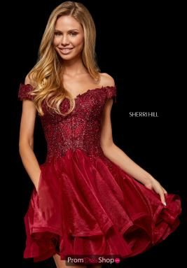 Sherri Hill Short Dress 52239