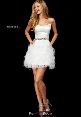 Sherri Hill Short Dress 52350