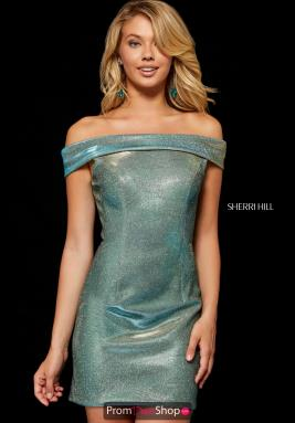 Sherri Hill Short Dress 52355