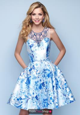 Splash Dress E258