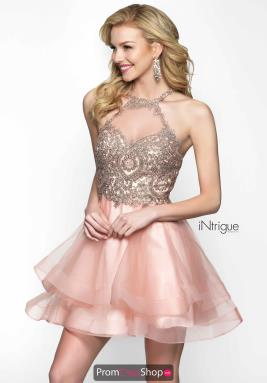 Intrigue by Blush Dress 472