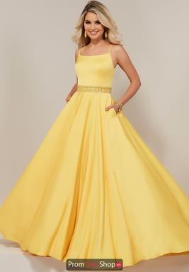 Yellow Winter Formal Dresses