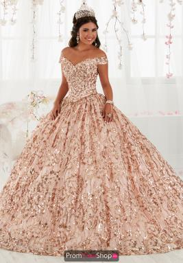 9609df59395 Tiffany Quinceanera Dress 26919. Rose Gold  Silver