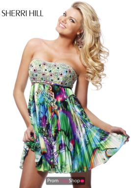 Sherri Hill Short Dress 9300