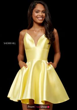 Sherri Hill Short Dress 52379