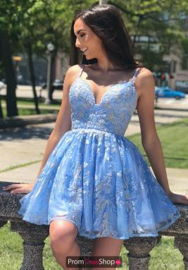 Sherri Hill Short Dress 53074