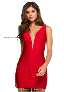 Sherri Hill Short Dress 53082