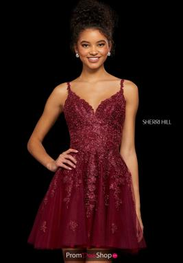 Sherri Hill Short Dress 53098