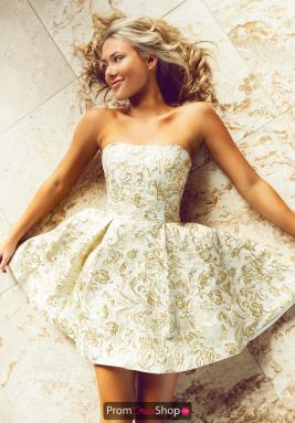 Sherri Hill Short Dress 53255