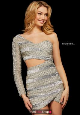 Sherri Hill Short Dress 53117