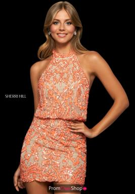 Sherri Hill Short Dress 53930