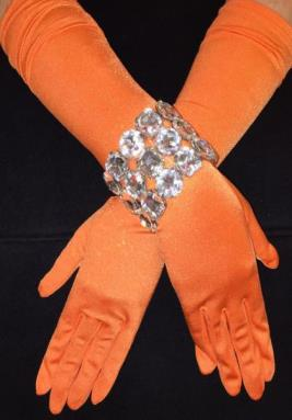 TangerineMatteGloves