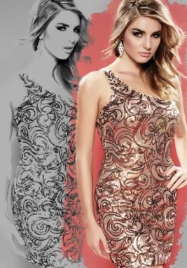 Milano Formals Dress E1709