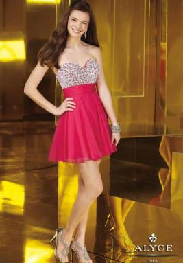 Alyce Short Dress 3558