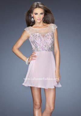 La Femme Short Dress 20159