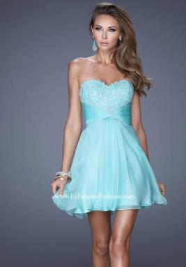 La Femme Short Dress 20574