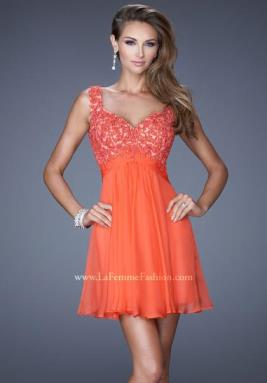 La Femme Short Dress 20631