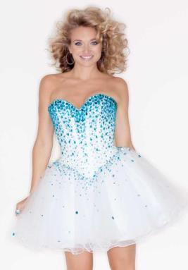 Mori Lee Sticks & Stones Dress 9214