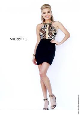 Sherri Hill Short Dress 32119