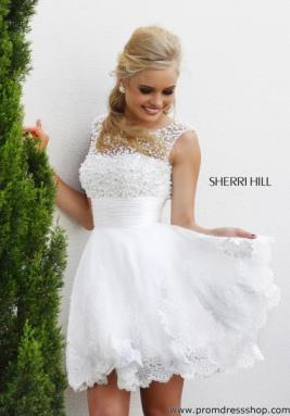 Sherri Hill Short Dress 4302