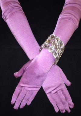 TiffanyPurpleMatteGloves