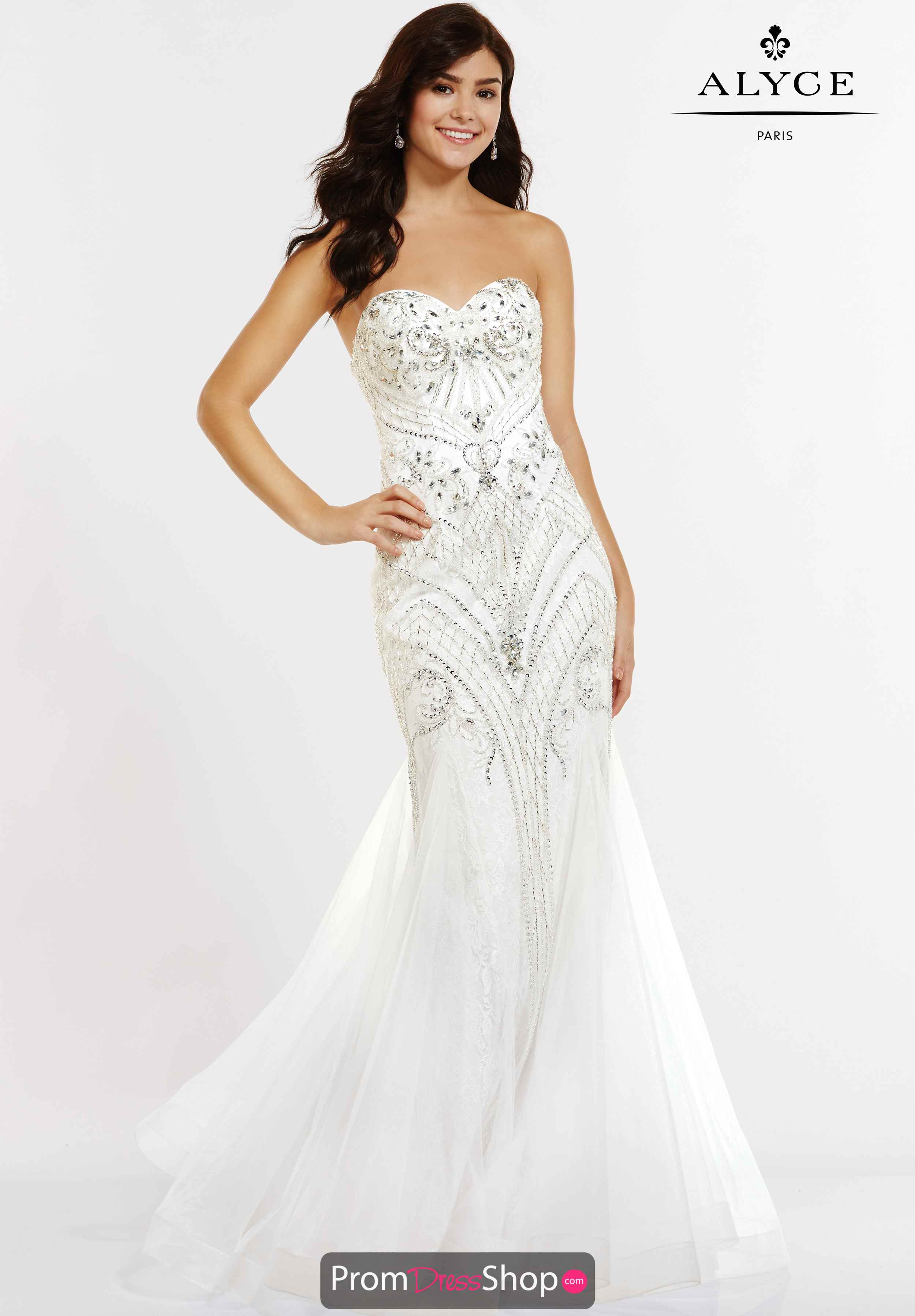 Just For Fun Prom Dress As Wedding Dress