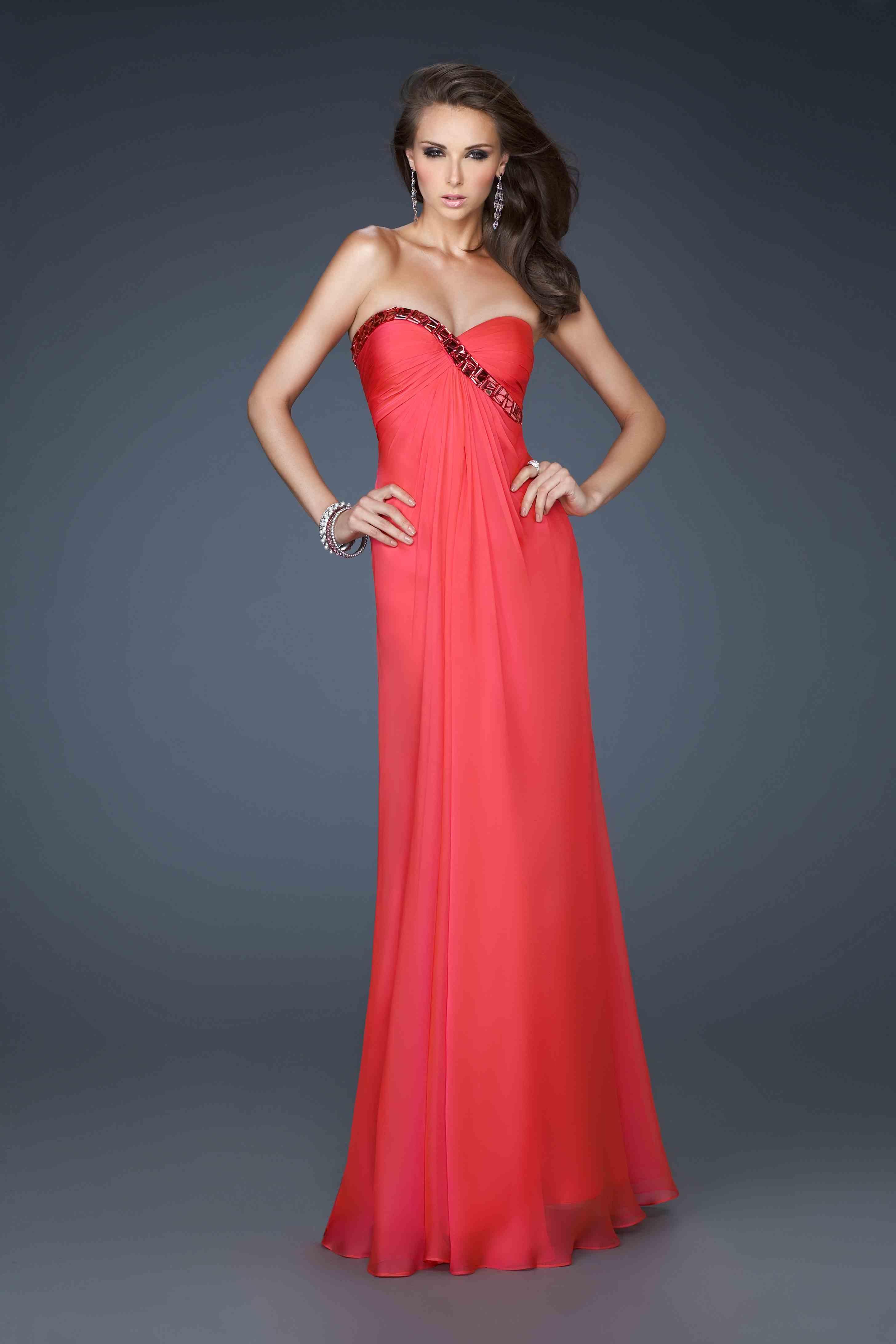 La Prom Dresses Red Prom Dresses